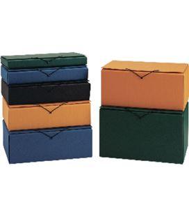 Carpeta proyecto folio 340x250x30mm verde pardo 963104