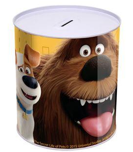 Hucha cilindrica mascotas cyp hm-16-pet - HM-16-PET