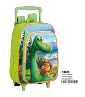 Mochila con carro infantil good dinosaur disney friendly montichelvo 51619 - 51619