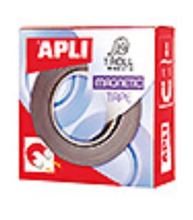Iman cinta adhesiva magnetica 19mmx1m apli 13830