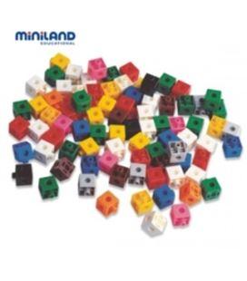 Cubos 2cm 100u. miniland 95210