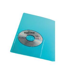 Funda cd adhesiva pvc 100uds iberplas 479acd10 07214 - 152755
