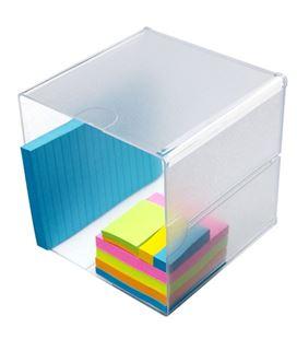 Organizador sobremesa hueco 15,2x15,2x15,2cm faibo 350401 - 350401