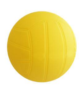 Pelota polivalente lisa soft 140mm amarilla jim sports 0003201 - 0003201