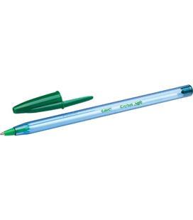 Boligrafolio boli verde cristal soft bic 921219
