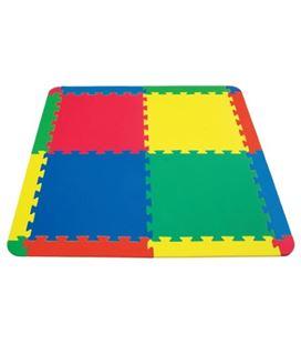 Alfoliombrilla tapiz eva 4 uni.surtidas+8 laterales+4 esquinas 101x101x1cm ama - 410330