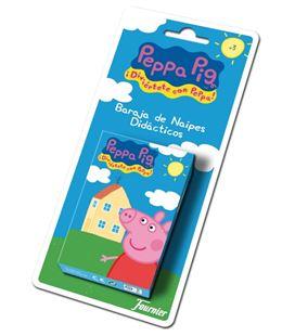 Baraja infantil 40 cartas peppa pig disney foliournier 43495