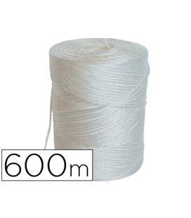Bobina cuerda polipropileno rafia blanca 600 metros liderpapel 21679 - 21679