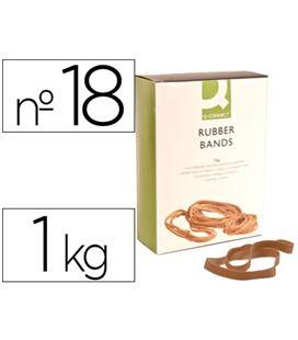 Goma elastica 180mm 1kg caja q-connect kf15185 - 54337