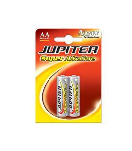 Pilas alkalina lr6 aa blister 2 unidades jupiter 040300 - 040300
