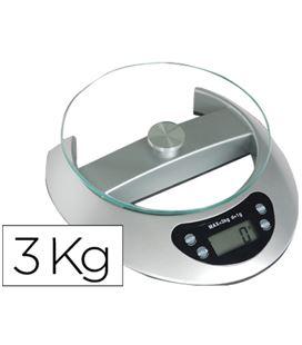 Pesacartas electronico oficina 3kg q-connect kf04231 36156 - 36156