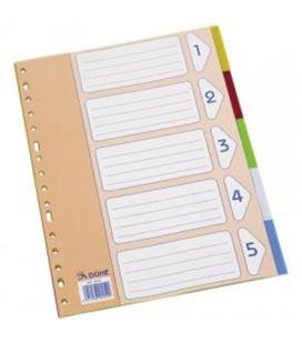 Separadores folio 5 posiciones surtido pp dohe 90452 - 90452