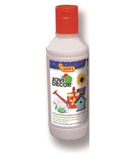 Pintura multiusos jovidecor botella 250 ml blanco - 111506
