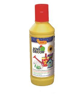 Pintura multiusos jovidecor botella 250 ml amarillo 680/02 - 111508