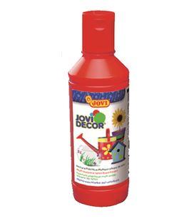 Pintura multiusos jovidecor botella 250 ml bermellón 680-07 - 111510