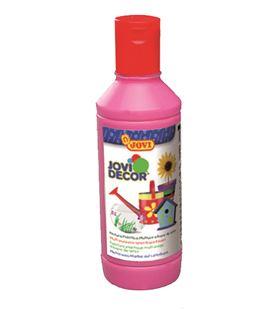 Pintura multiusos jovidecor botella 250 ml magenta - 111511