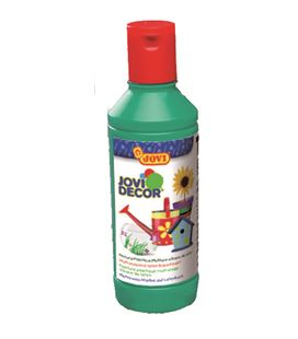 Pintura multiusos jovidecor botella 250 ml verde medio 680-17 - 111513