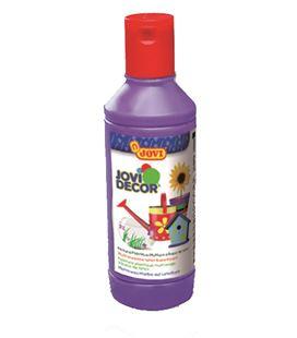 Pintura multiusos jovidecor botella 250 ml violeta - 111516
