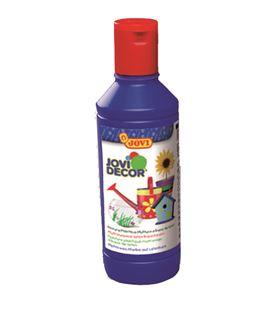 Pintura multiusos jovidecor botella 250 ml azul ultramar - 111517