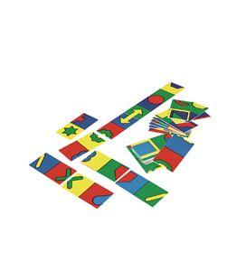 Domino simetrias 28 fichas 7x14 cm henbea