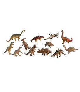 Animales dinosaurios 12 figuras bote miniland - 112586