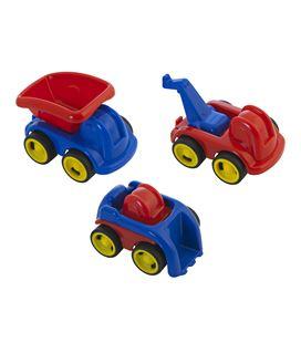 Vehiculos plastico minimobil jobs bote 3 uds. miniland - 112574