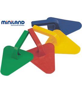 Paletas set 4 uds. miniland - 113128