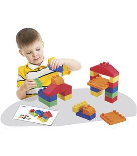 Construcciones gummi blocks 52 piezas miniland (descatalogado)