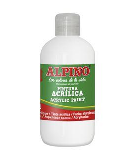 Pintura acrilica botella 250 ml blanco alpino dv000020 - 111548