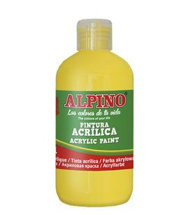Pintura acrilica botella 250 ml amarillo alpino dv000021 - 111549
