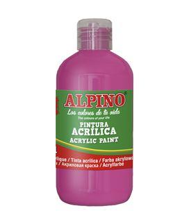 Pintura acrilica botella 250 ml magenta alpino dv000025 - 111553