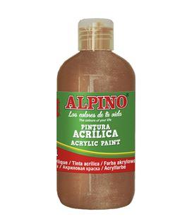 Pintura acrilica botella 250 ml bronce alpino
