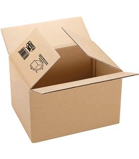 Caja embalaje 600x400x290 marron c.sencil.3mm grafolioplas - 114062