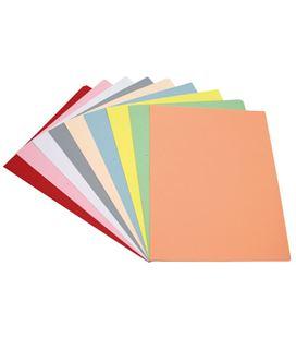 Subcarpeta fº 180grs 10 colores surtidos pasteles c100u grafoplas - 53249