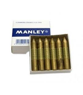 Ceras manley cj.12 uds. oro(74)