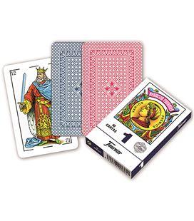 Baraja española nº1 estuche 50 cartas foliournier