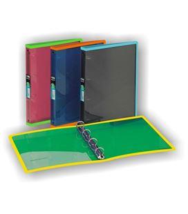 Carpeta 4 anillas a4 25mm surtido folioldermate 231 pgp 21889 - 231-PLUS