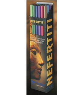 Papel kraft nefertiti 1x3m expositor carton 24 rollos(3xcolor) sadipal