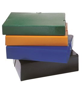 Caja proyectos lomo 7cm gomas amarillo carton compacto brillo montada saro - 111291