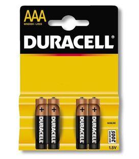 Pila alcalina simply aaa (lr03) blister 4 duracell - 110589