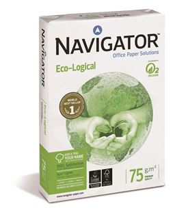 Papel a4 500h 75grs blanco eco-logical navigator - 114439