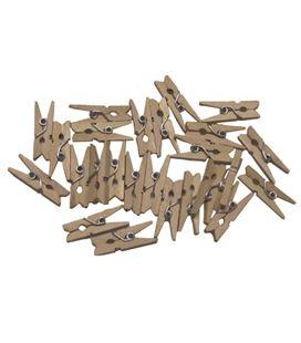 Pinzas madera pack 30 pequeñas smart 68005800 - 112105