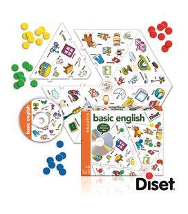 Basic ienglish cd+tablero vocabulario ingles disset - 112822