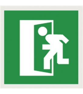 Etiqueta señalizadora salida 114 x 114 apli - 113162