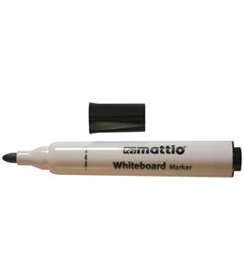 Rotulador pizarra negro punta conica 2,5mm mattio 49557