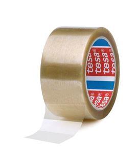 Cinta embalar precinto pp estándar transparente 66x50 tesa 04089-0000 - 200263