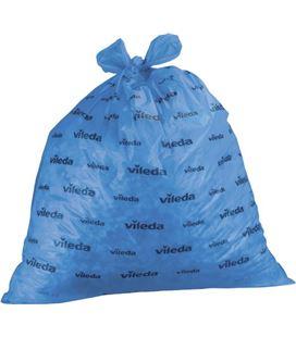 Bolsas de basura industrial extrasuper rollo 20ud 90x110 azul velleda 13875 - 240697
