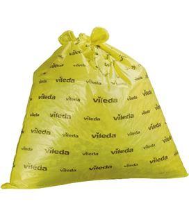 Bolsas de basura industrial extrasuper rollo 20ud 90x110 amarillo velleda 1 - 240703