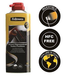 Spray aire a presión sin hfc. 200 ml fellowes - FE9974804