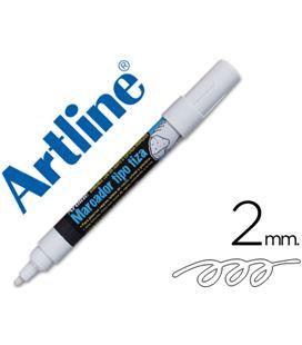 Rotulador pizarras negras chalk marker 2 mm blanco artline - 35443